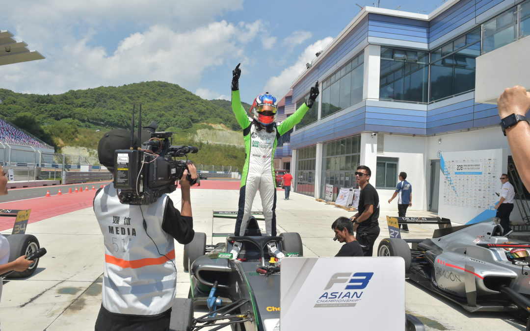 Conwright reflects upon silverware-studded season in Asian F3