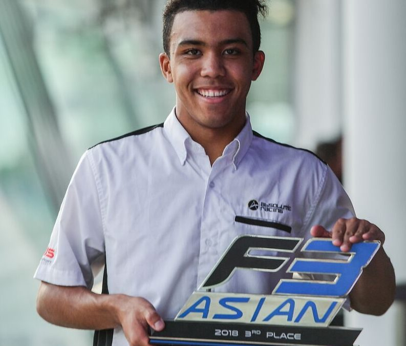 Jaden Conwright clinches 3rd place in F3 Asia and another podium finish in Sepang